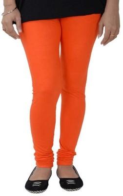 Fashioncrush Women's Orange Leggings