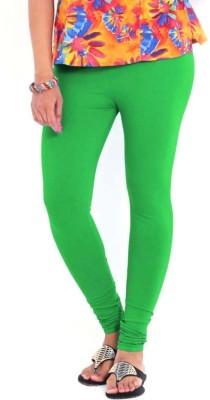 R R Women's Light Green Leggings
