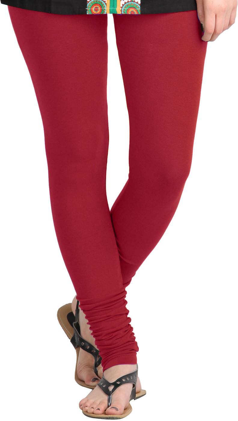 MSS WINGS Womens Red Leggings