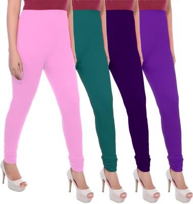 Apple Knitt Wear Women's Maternity Wear Pink, Green, Purple, Purple Leggings