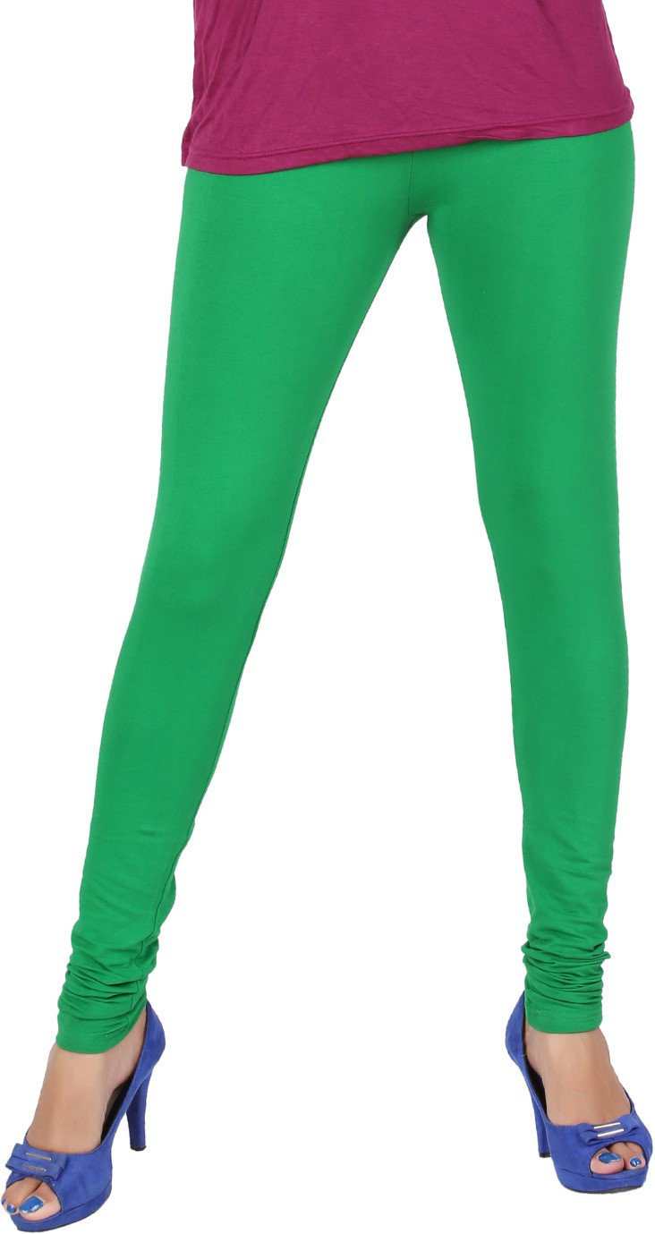 JJ Womens Green Leggings