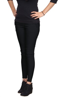 Ally The Creations Women's Black Jeggings