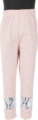 Le Luxe Girl's Pink Leggings