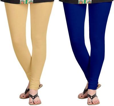 ZACHARIAS Women's Beige, Blue Leggings