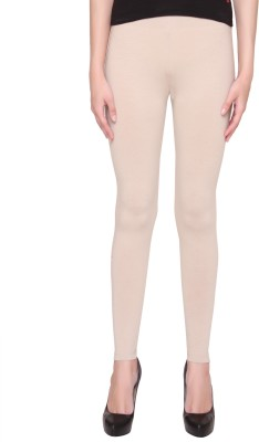 Valentine Women's Beige Leggings