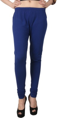 C/Cotton Comfort Women's Blue Leggings