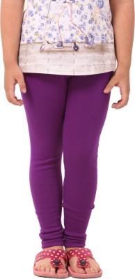 Pretty Angel Girl's Purple Leggings