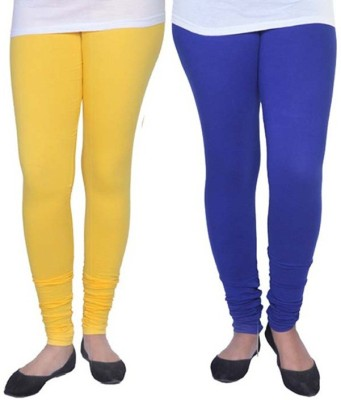 Ambitious Women's Yellow, Blue Leggings