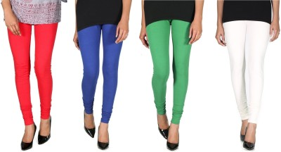 Ally Of Focker Women's Red, Blue, Green, White Leggings