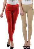 iHeart Women's Multicolor Jeggings (Pack...