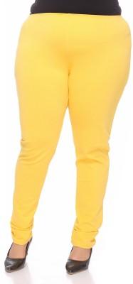PlusS Women's Yellow Leggings
