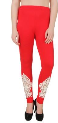 You Forever Women's Red Leggings