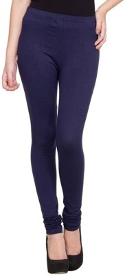 Family Bazaar Women's Dark Blue Leggings