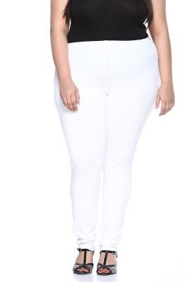 PlusS Women's White Leggings