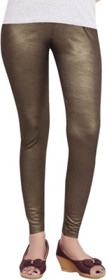 Back The Collection Women's Brown Leggings