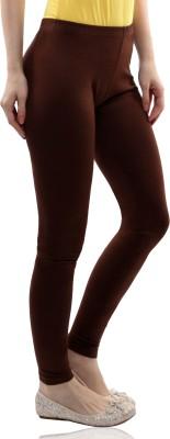 Miss Chase Women's Brown Leggings