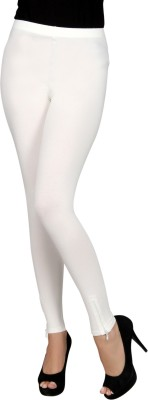 Sheenbottoms Women's White Leggings