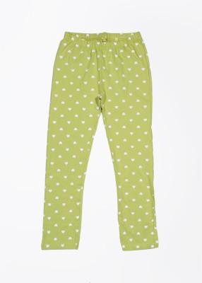 People Girl's Green Leggings