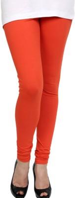 Pannkh Women's Orange Leggings