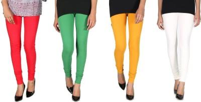 Ally Of Focker Women's Red, Green, White, Yellow Leggings