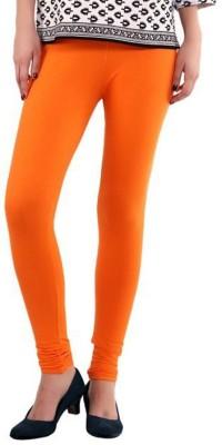 Family Bazaar Women's Orange Leggings
