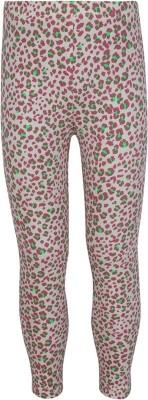 Jazzup Girl's Brown, Green Leggings