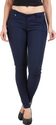 Prnas Women's Dark Blue Jeggings