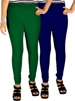 Dolphin Women's Dark Green, Blue Leggings