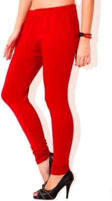 Visach Women's Red Leggings