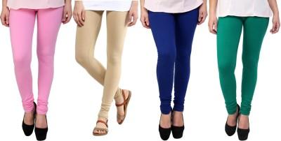 Legemat Girl,s Pink, Beige, Blue, Green Leggings