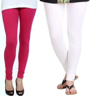 ZACHARIAS Women's Pink, White Leggings