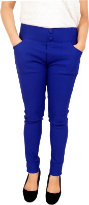 Parv Collections Women,s Dark Blue Jeggings