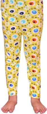 Pari & Prince Girl's Yellow Leggings