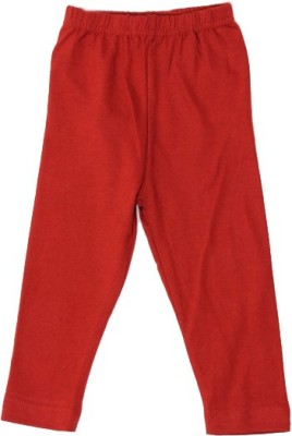 Rhamgold Baby Girl's Red Leggings