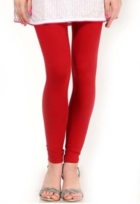 V's Fashion Point Women's Red Leggings
