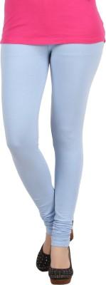 Sewn Women's Blue Leggings