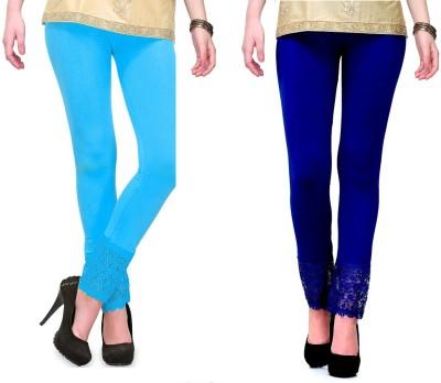 RobinRomeo Women's Blue, Blue Leggings