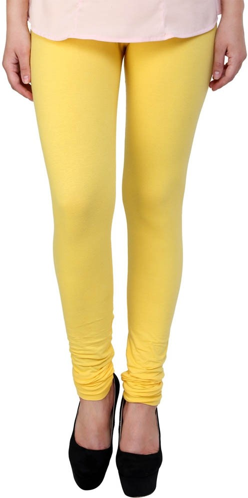Antonius Womens Yellow Leggings