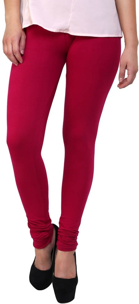 Antonius Womens Maroon Leggings