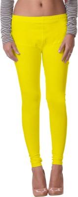 Delizia Women's Yellow Leggings