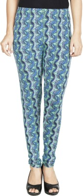 Anekaant Womens Green, Blue Leggings