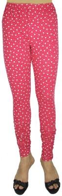 Bluedge Women's Red, White Leggings