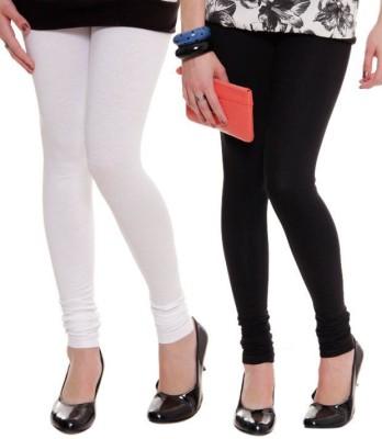 StyleJunction Women,s Black, White Leggings