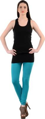 Mynte Women's Blue Leggings