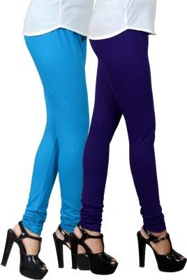 JSA Women's Light Blue, Blue Leggings