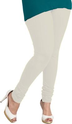 I-Diva Women's White Leggings