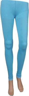 Stylefunia Women's Light Blue Leggings