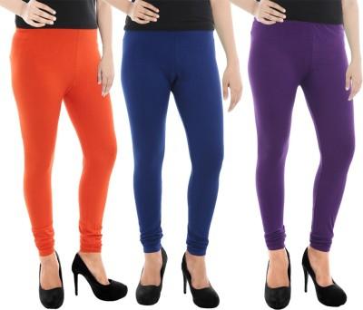 Paulzi Women's Orange, Blue, Purple Leggings