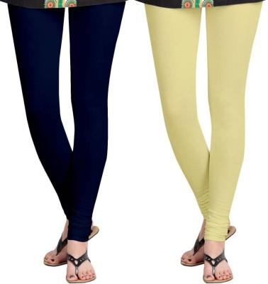 Roshni Creations Women's Beige, Blue Leggings