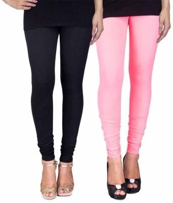 Ayesha Fashion Women's Black, Pink Leggings